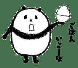 Beans Panda sticker #639648
