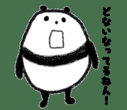 Beans Panda sticker #639651