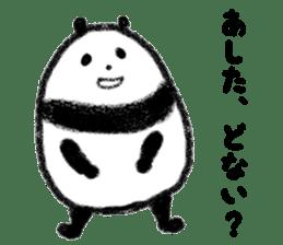 Beans Panda sticker #639653