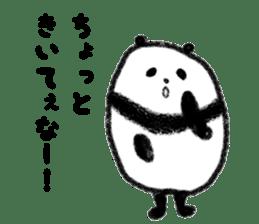 Beans Panda sticker #639655