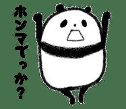 Beans Panda sticker #639656