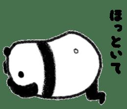 Beans Panda sticker #639668