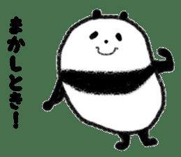 Beans Panda sticker #639675