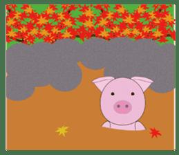 Port town pig Ton Ton sticker #639718