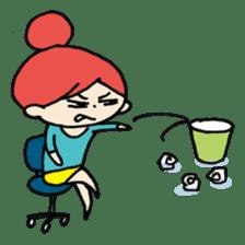 Stressful days sticker #639829