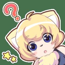Beast girl icon sticker #640787
