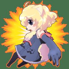 Beast girl icon sticker #640798