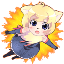Beast girl icon sticker #640800