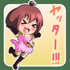 Beast girl icon sticker #640811