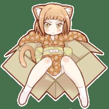 Beast girl icon sticker #640824