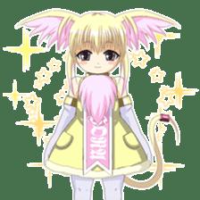 Beast girl icon sticker #640825