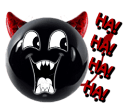 THE DEVILISH BALL: Reveal Your Dark Side sticker #641148