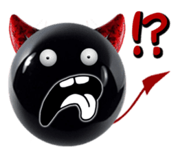 THE DEVILISH BALL: Reveal Your Dark Side sticker #641149