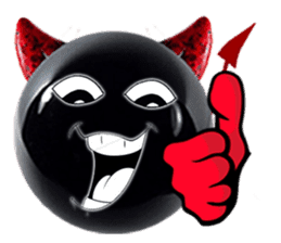 THE DEVILISH BALL: Reveal Your Dark Side sticker #641157