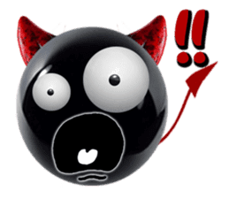THE DEVILISH BALL: Reveal Your Dark Side sticker #641158