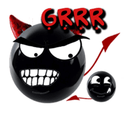 THE DEVILISH BALL: Reveal Your Dark Side sticker #641163