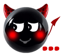 THE DEVILISH BALL: Reveal Your Dark Side sticker #641171