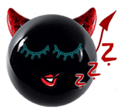 THE DEVILISH BALL: Reveal Your Dark Side sticker #641173