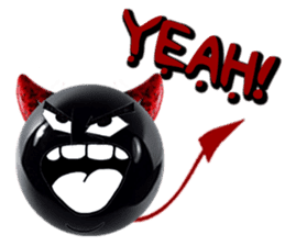 THE DEVILISH BALL: Reveal Your Dark Side sticker #641174
