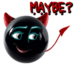THE DEVILISH BALL: Reveal Your Dark Side sticker #641185