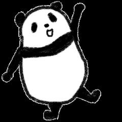 Three Words Panda