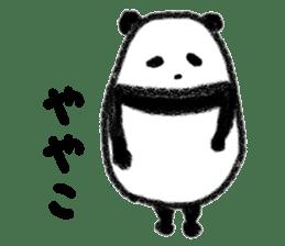 Three Words Panda sticker #641320