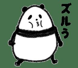 Three Words Panda sticker #641337