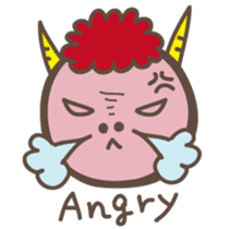 Naughty ogre boy YOSHIO English version sticker #642310