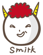 Naughty ogre boy YOSHIO English version sticker #642315