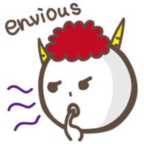 Naughty ogre boy YOSHIO English version sticker #642325