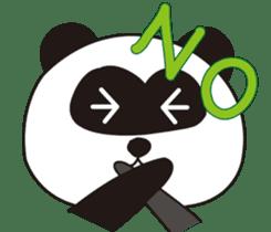 Panda's Padawo kun(English version) sticker #642627