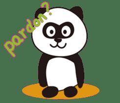Panda's Padawo kun(English version) sticker #642628