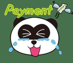 Panda's Padawo kun(English version) sticker #642632