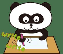 Panda's Padawo kun(English version) sticker #642634