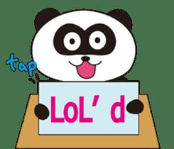 Panda's Padawo kun(English version) sticker #642635