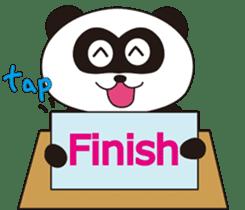 Panda's Padawo kun(English version) sticker #642636