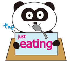 Panda's Padawo kun(English version) sticker #642637