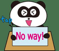 Panda's Padawo kun(English version) sticker #642639