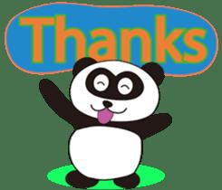 Panda's Padawo kun(English version) sticker #642651
