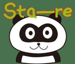 Panda's Padawo kun(English version) sticker #642653