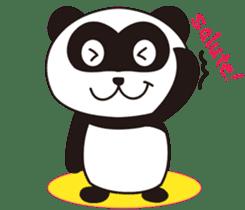 Panda's Padawo kun(English version) sticker #642655
