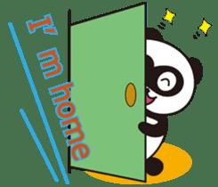 Panda's Padawo kun(English version) sticker #642660