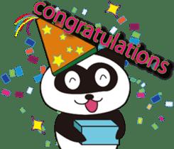 Panda's Padawo kun(English version) sticker #642662