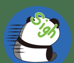 Panda's Padawo kun(English version) sticker #642663