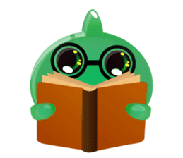Cute and adorable jelly stickers sticker #642828