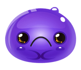 Cute and adorable jelly stickers sticker #642829