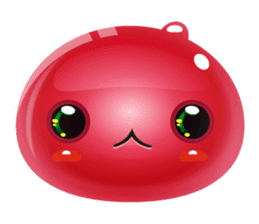 Cute and adorable jelly stickers sticker #642841