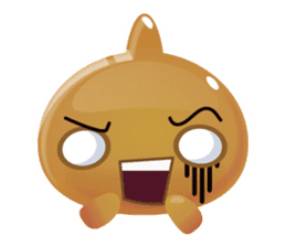 Cute and adorable jelly stickers sticker #642844