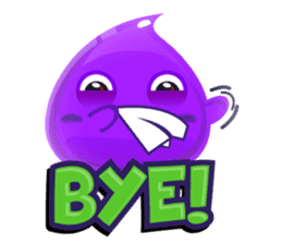 Cute and adorable jelly stickers sticker #642847
