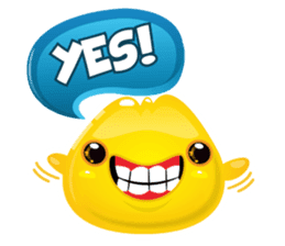 Cute and adorable jelly stickers sticker #642848